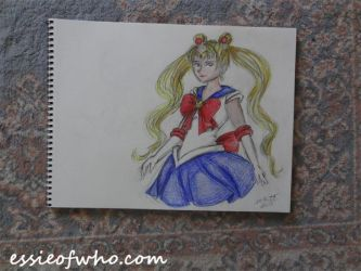 Sailor Moon Badge Entry by EssieofWho