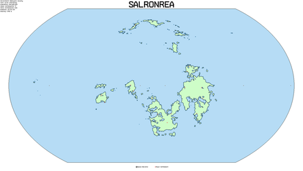 Map of Salronrea by TerranTechnocrat
