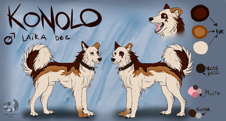 Konolo - Reference sheet by Tartoche
