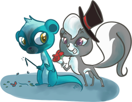 Sunil/Pepper OTP by PonyGoggles