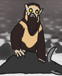 Daily DnD Monster: Yeti by Dwoll