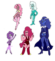 Surprise Gem Customs by popinat