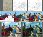 Progression- Link by A-Fistful-Of-Kittens