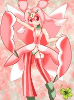 Humanized Lurantis by Lucky-JJ