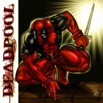 Deadpool Art by RAM by robertmarzullo