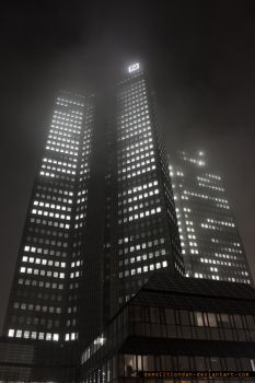 foggy skyscrapers2 by demolitiondan