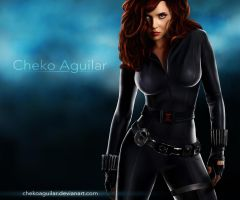 Black Widow by ChekoAguilar