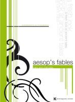 Aesops Fables Book Cover by DavidKing12