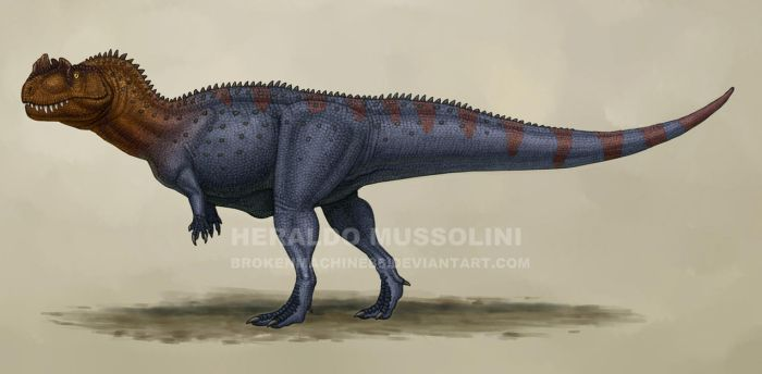 Ceratosaurus by BrokenMachine86