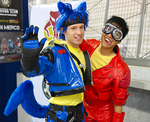 Lucario and Kaneda by paul375