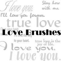 Love Brushes 1 by sd-stock