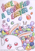 Have A Bunnified Easter by xraiko
