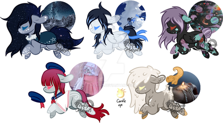 [CLOSED] Aesthetic ponies adopts OTA by Fireflys-Adopts