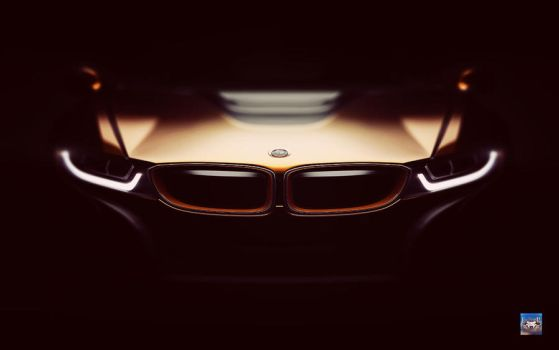 BMW i8 Wallpaper by eduard2009