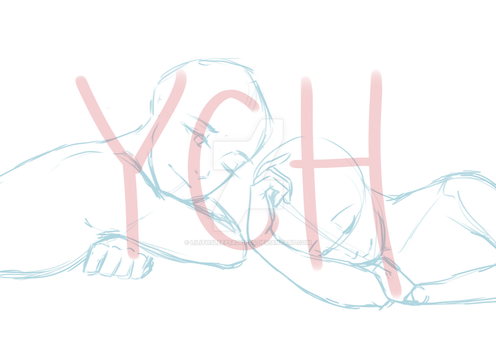 Couple YCH #4 (AUCTION) [CLOSED] by Lilithsleepsadopts