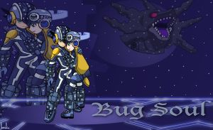 MMBN Bugsoul, Roll Mega by BrushBell