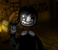 Bendy Ink by GalaxySwirlsYT