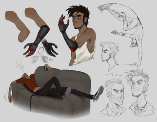 alex sketchdump by Sylthian