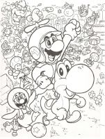 New Super Mario Bros. Wii by mattdog1000000