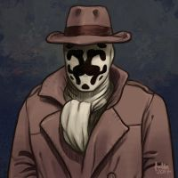 Daily Sketches Rorschach by fedde