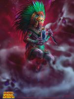 Tezcatlipoca by Feig-Art