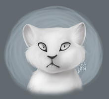Sort Of Realistic Cat by Lazyleaf-Dave