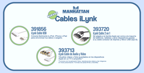 iLynk Cables by Manhattan by elporfirio