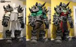 World of Warcraft Orc Cosplay WIP 18 SKS Props by SKSProps