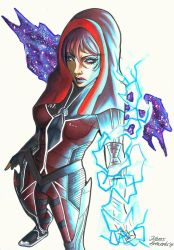 Mass Effect OC - Neves [Commission] by Shiranui94