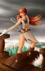 Sabrella the Pirate by Bluthan