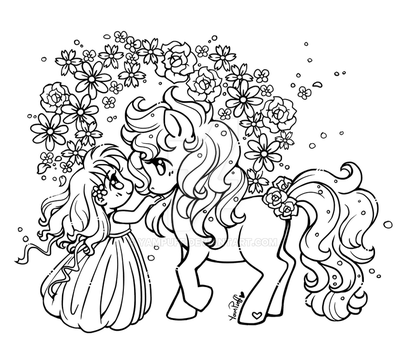 Spring Coloring Contest! by YamPuff