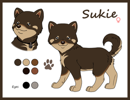 Sukie model sheet by Panther85