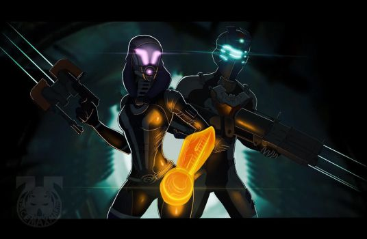 Isaac and Tali (5) by spaceMAXmarine