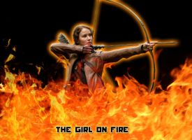 The Girl On Fire - The Hunger Games by PaulaML