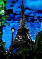 Eiffel Pride  Tower by DemonaTheOperator