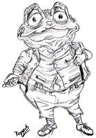 Toad.... Wind in the Willows by Keppit