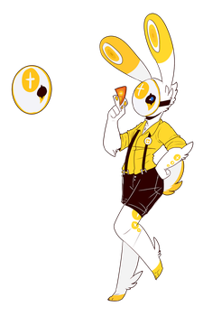 Point Bunny - Contest Entry by PityAction