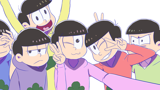 Group selfie with big bros! by Memby