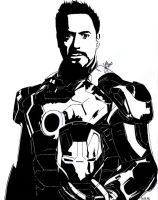 Tony Stark The Iron man by DaegStone