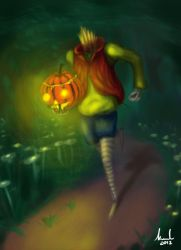 Halloween coming by spider071