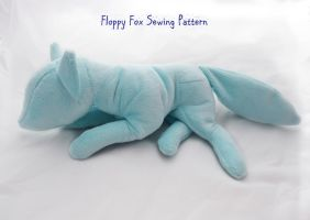 Floppy Fox Sewing Pattern by PlanetPlush