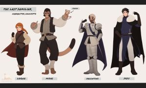 Main Cast || TLF by Covarche