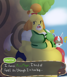 [FA] Insecure Fat Dog by An-Inkling-of-a-Clue