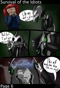 Survival of the Idiots - Page 6 by DeadBird-Hushabye