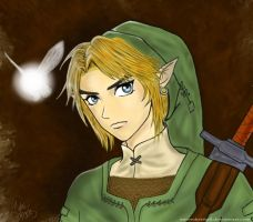 LoZ- Link by amorekristall