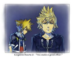 KH2 - 'You make a good other.' by tsim