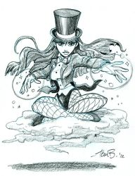 Zatanna 2_ Commission by tombancroft