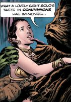 Comic - Leia is Jabba's Companion by Bellosh101