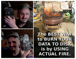 Dave Explains The Best Way To Burn Data by paradigm-shifting