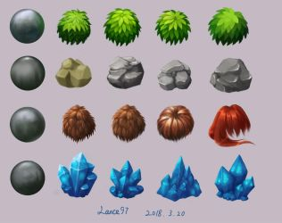 Materials Study by Lance97